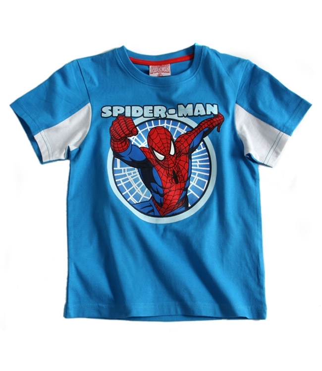 Spiderman T-shirt (Light Blue)