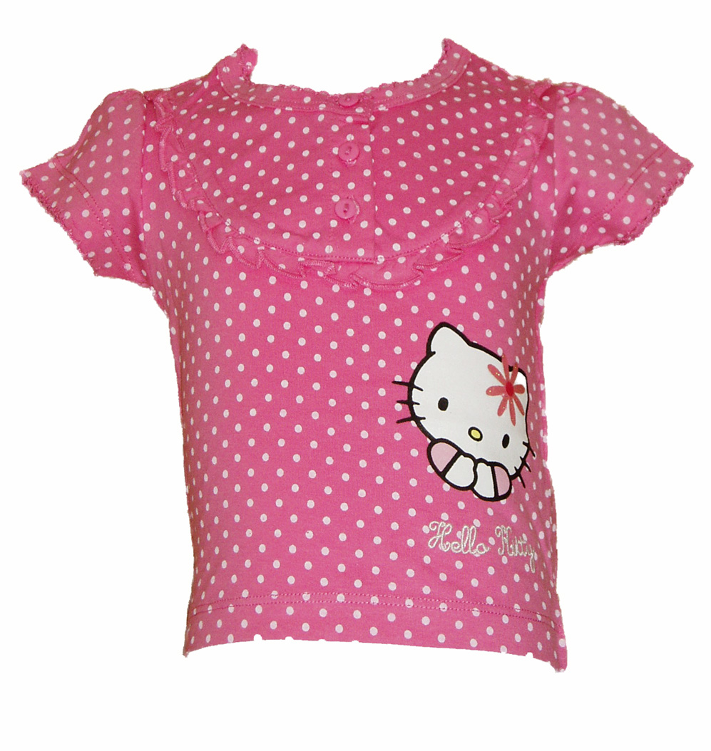Spotty Hello Kitty T-shirt - Baby
