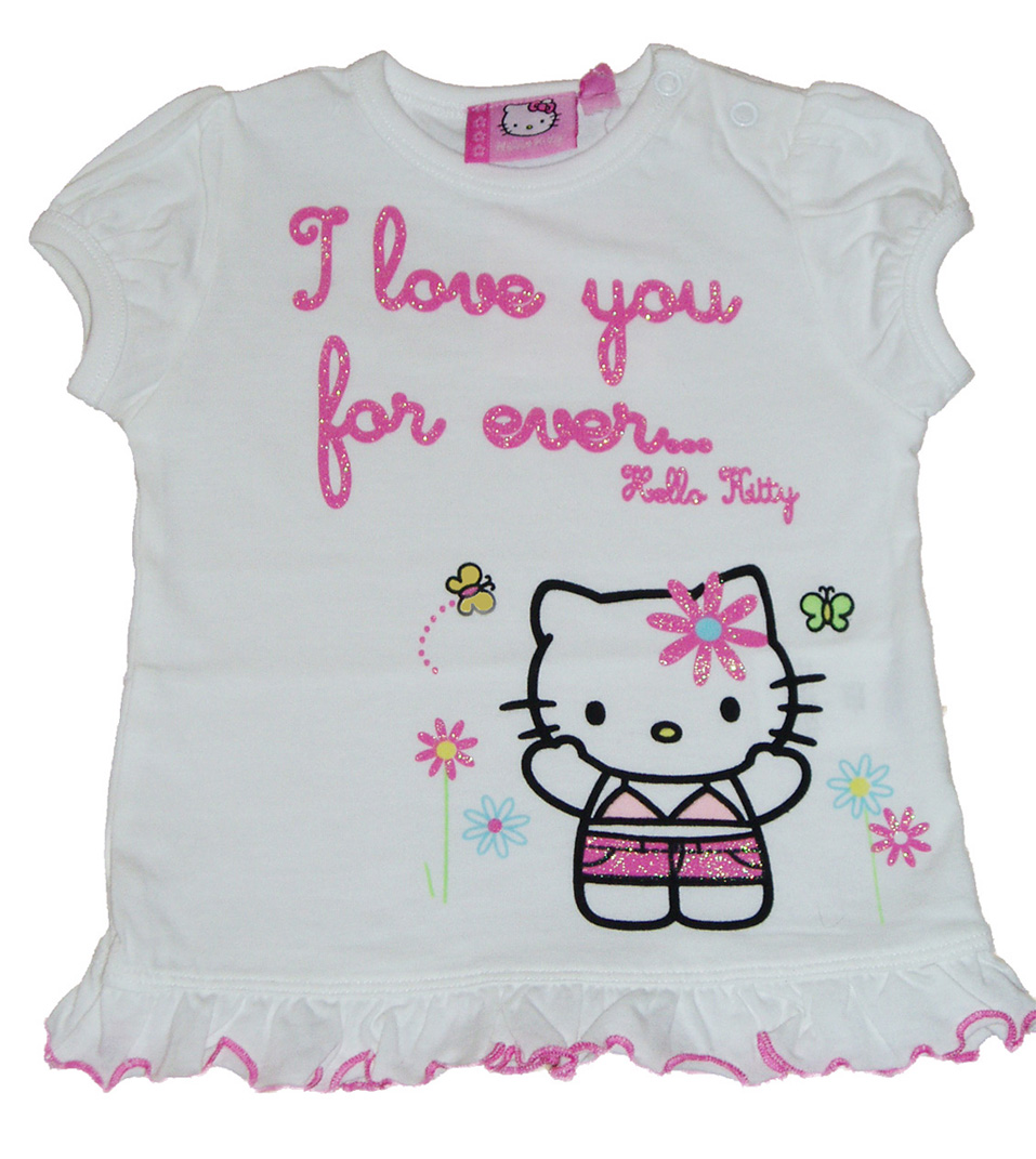White Hello Kitty T-shirt - Baby