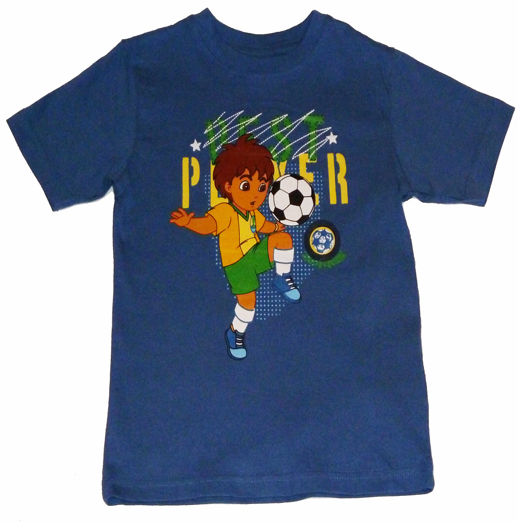 Diego Football T-shirt (Blue)