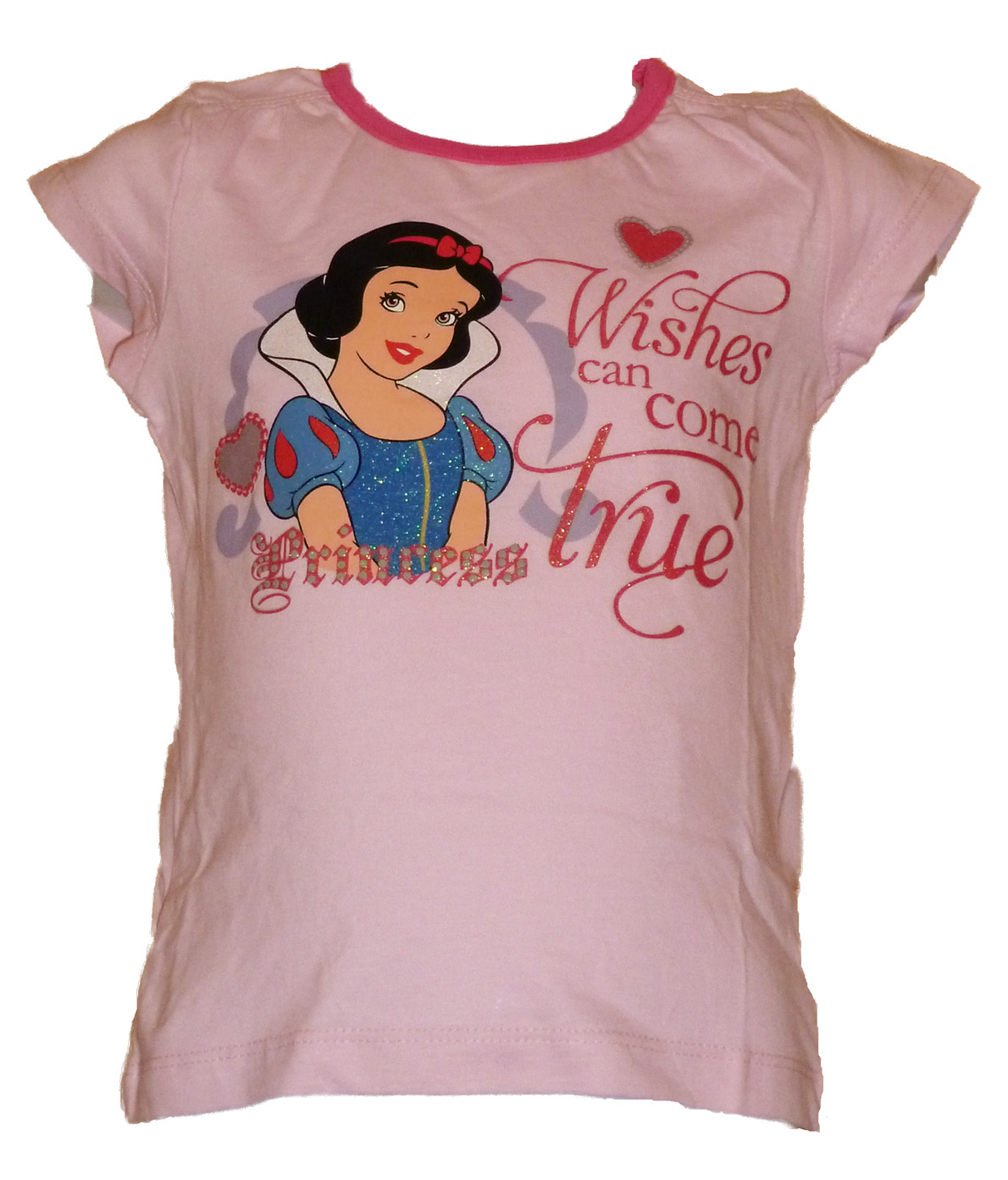 Snow White T-shirt (pink)
