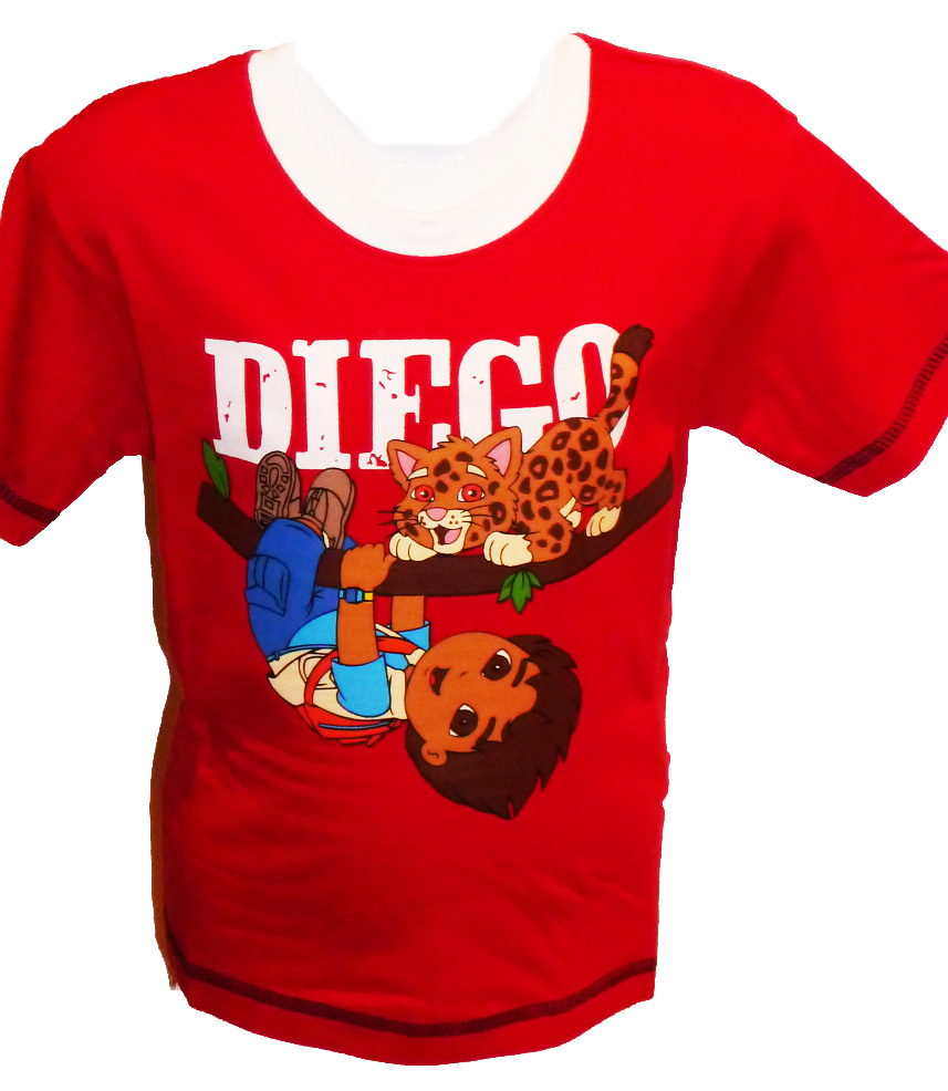 Diego T-shirt (Red)