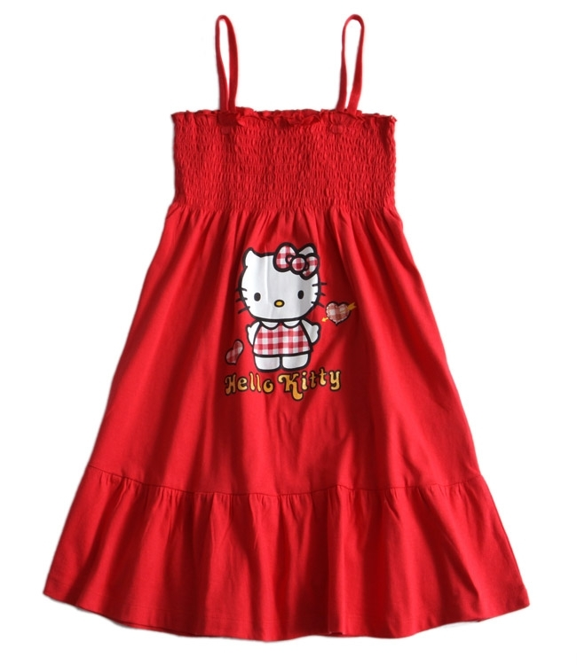 Hello Kitty Sun Dress - Red