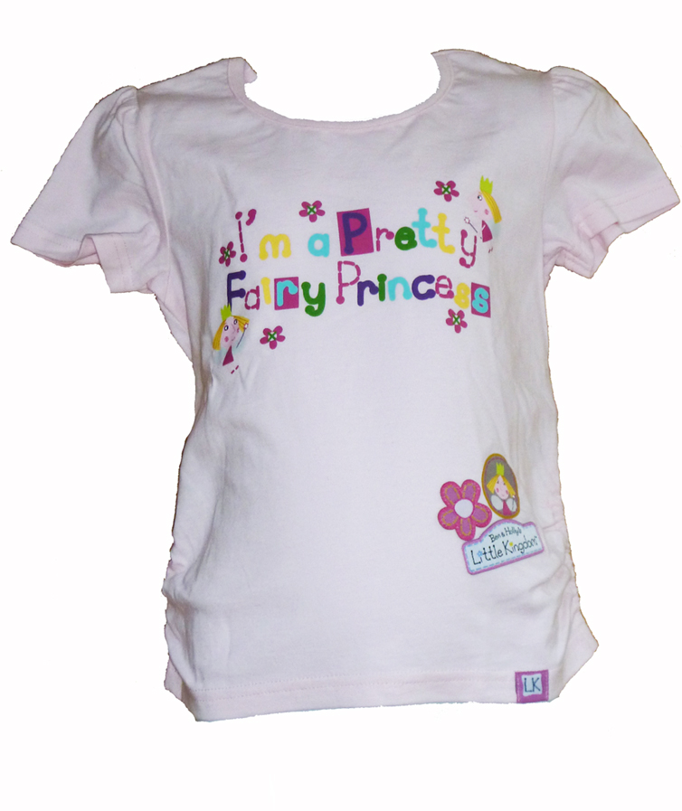 Ben & Hollys Little Kingdom Tee - Pink