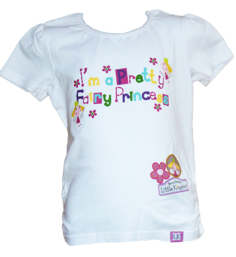 Ben & Hollys Little Kingdom Tee - White