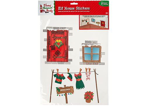 Elf House Wall Stickers